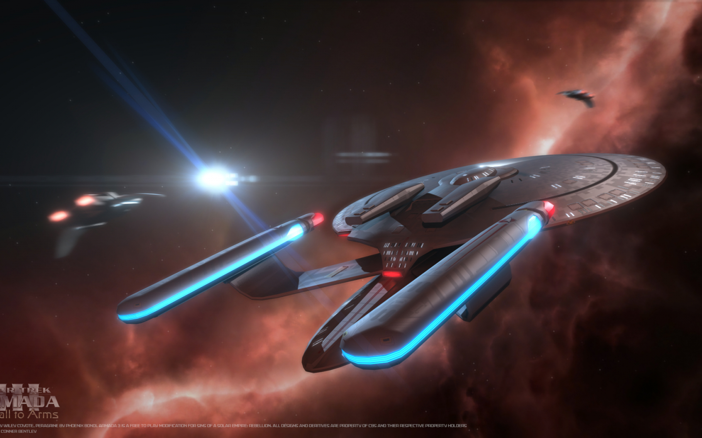 Free Download Wallpaper Image Star Trek Armada 3 Mod For Sins Of A