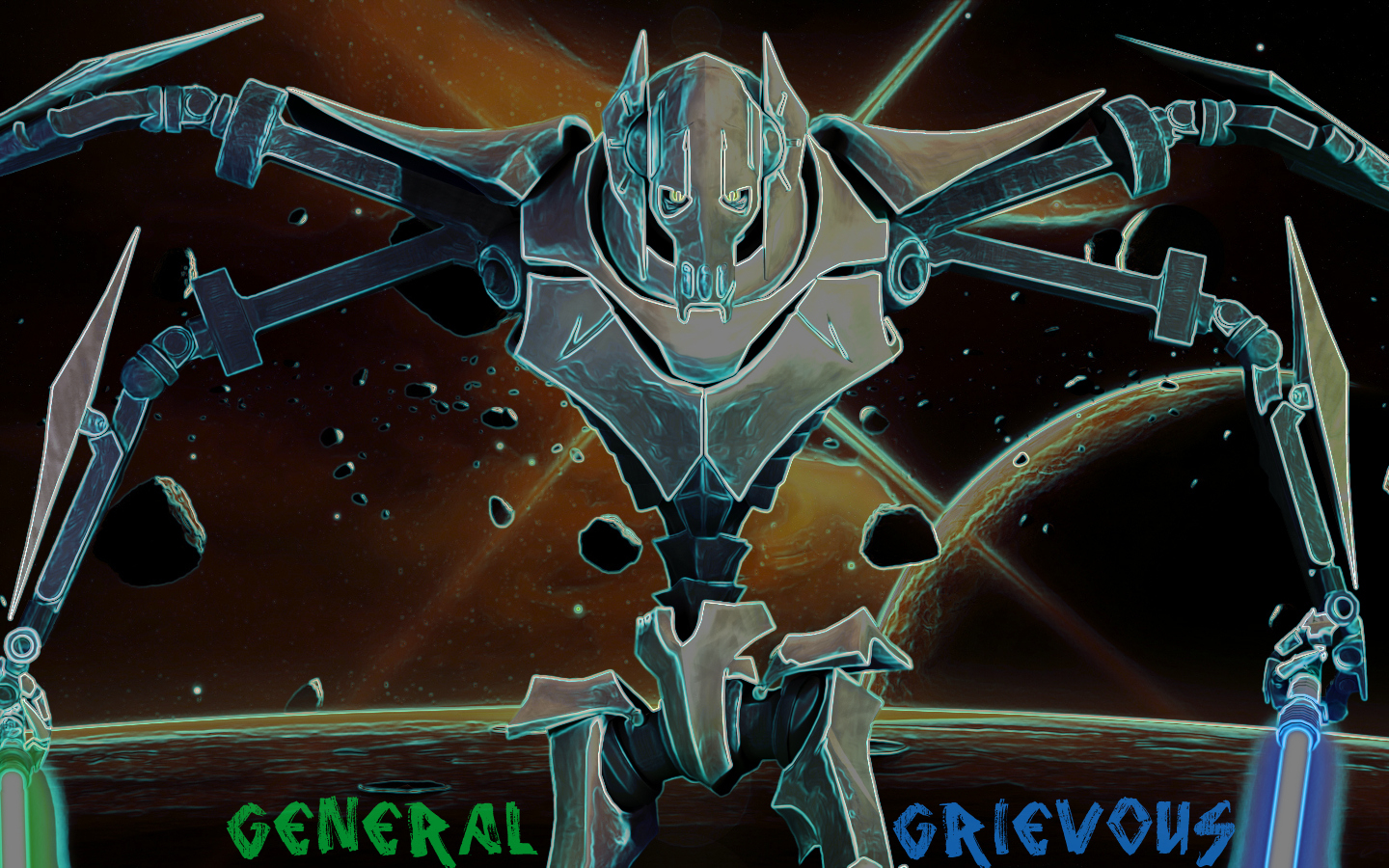 Free Download General Grievous Wallpaper The Star Wars Underworld