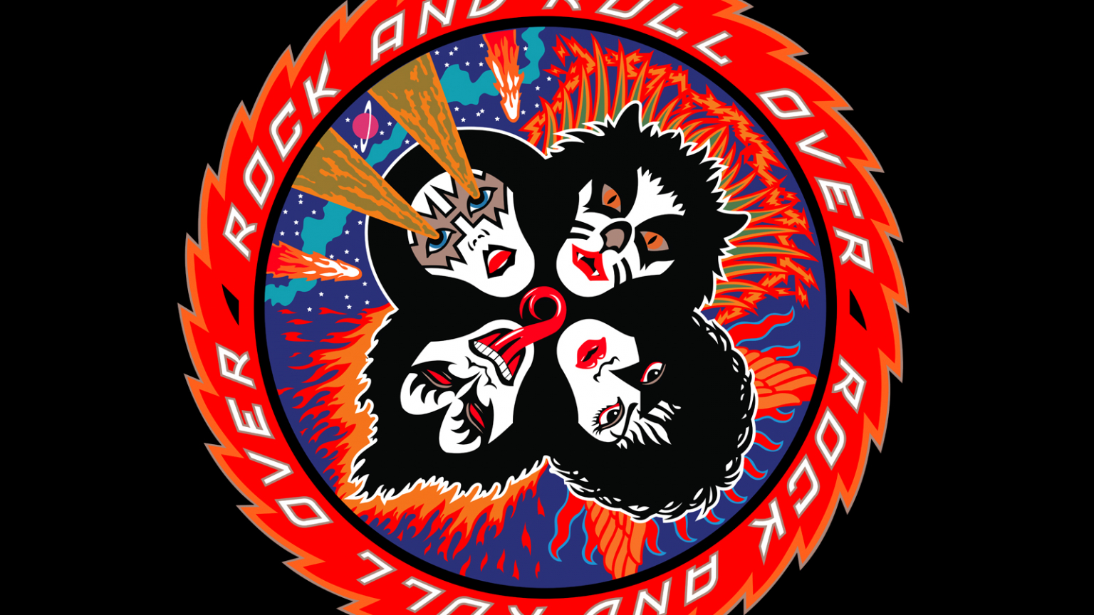 Free Download Kiss Rock And Roll Over Wallpaper Rock N Roll All