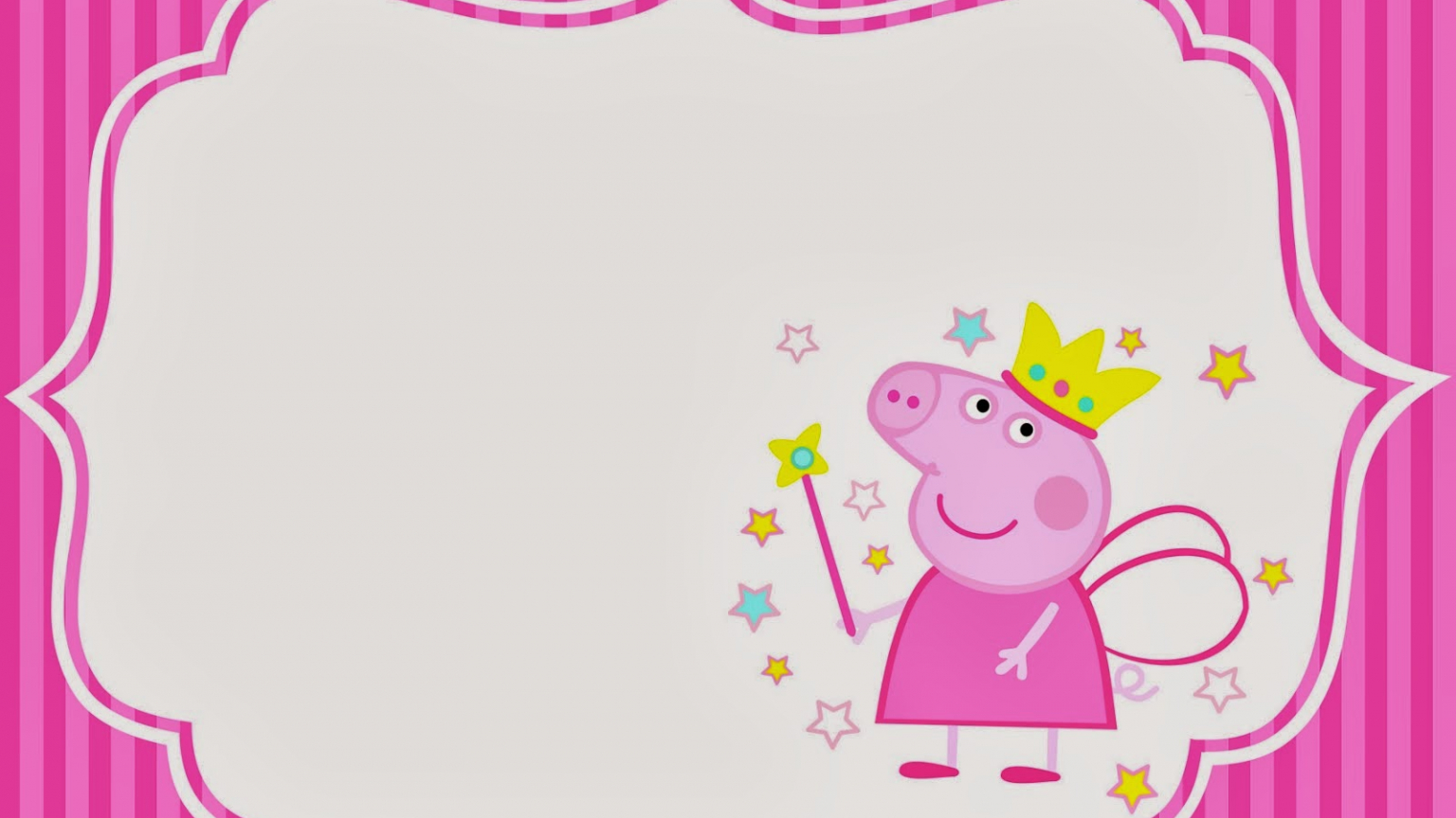 - Free Download Peppa Pig Fairy Invitations And Party Printables Oh