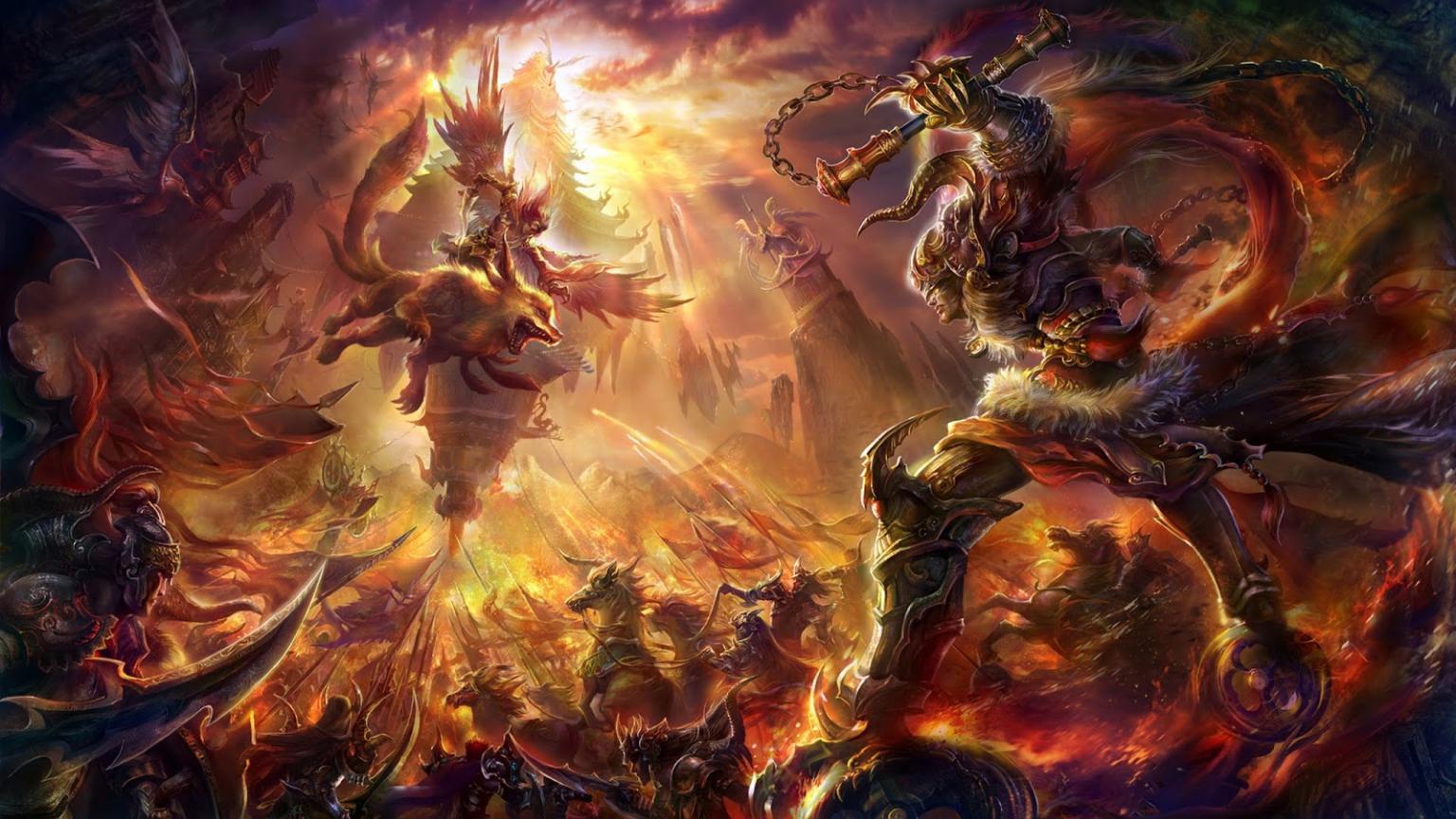 Free Download Epic Battle Fantasy Monsters Warriors C47 Ivy