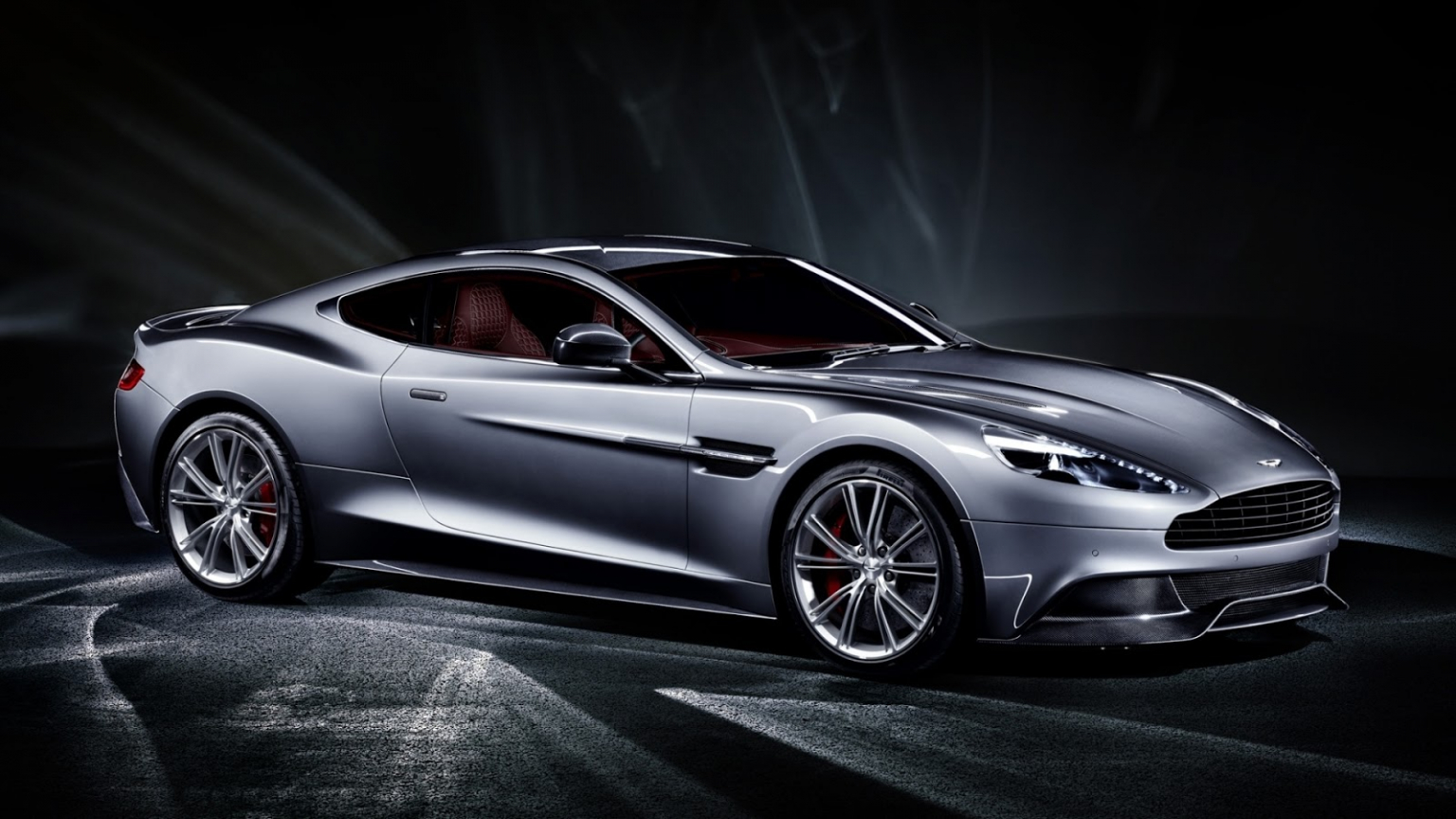 Free Download Aston Martin Vanquish Silver Full Hd Desktop Images, Photos, Reviews
