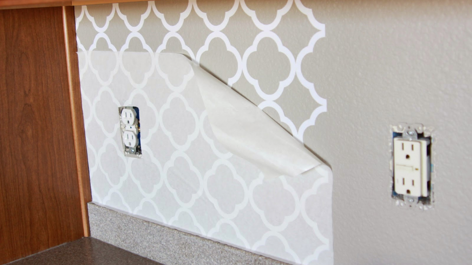 - Free Download The Happy Chateau Removable Kitchen Backsplashes