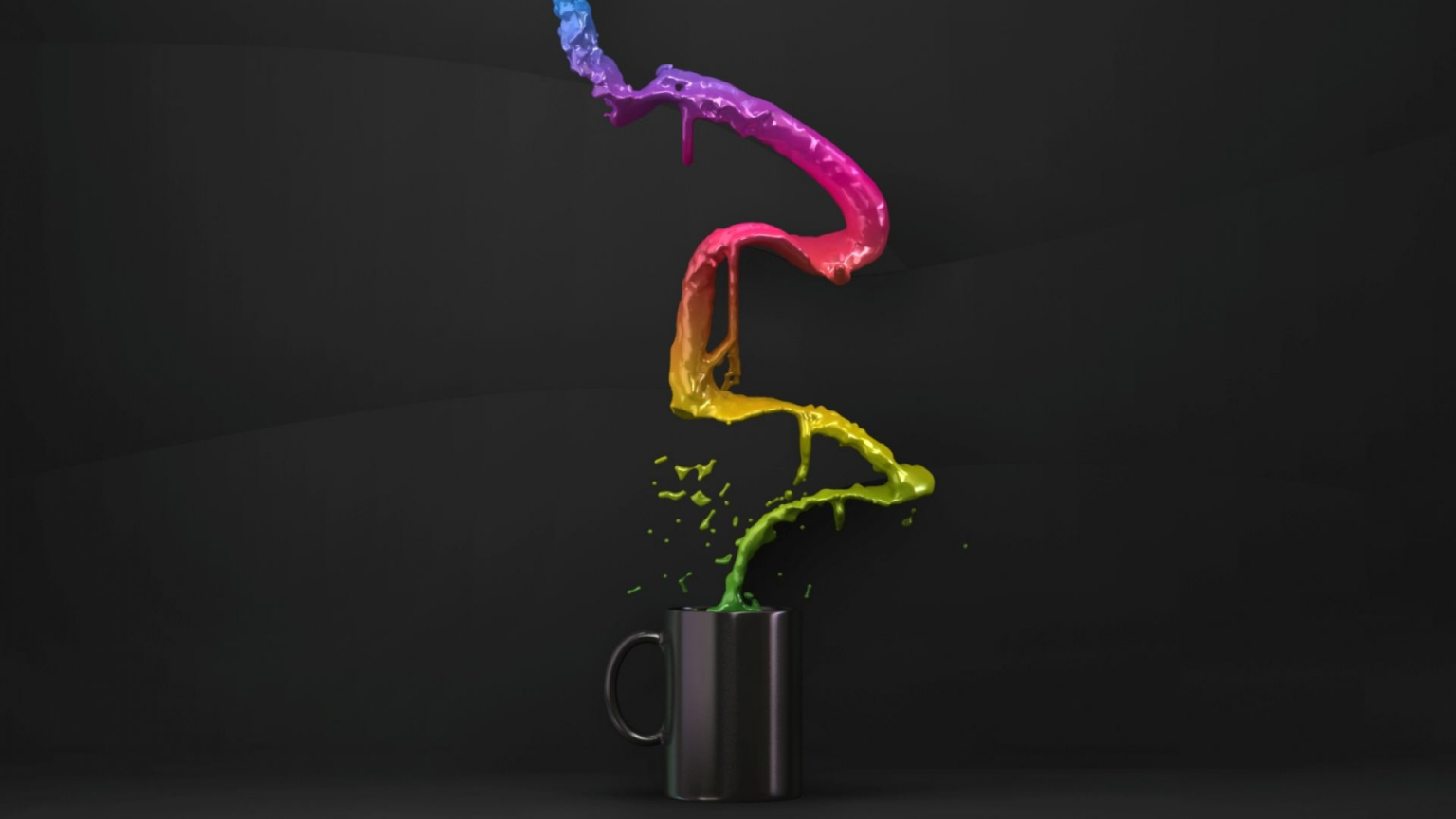 Free Download 3d Coffee Cup Color Splash 4k Full Hd Backgrounds Hd 1920x1200 For Your Desktop Mobile Tablet Explore 76 Color Splash Wallpaper Color Splash Wallpaper Hd Abstract Color Wallpaper
