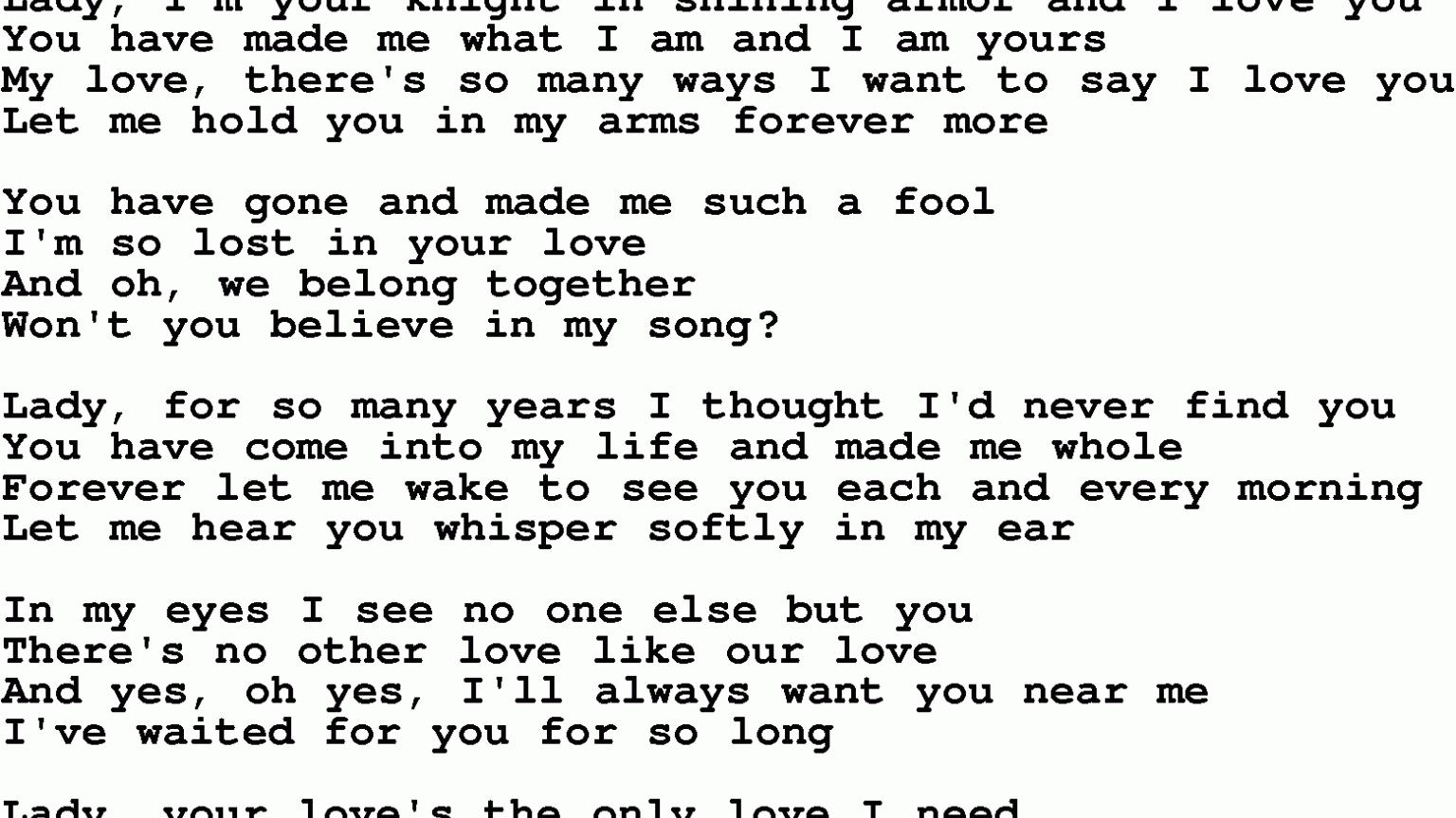 Free download Love Songs Lyrics 31 Background Wallpaper