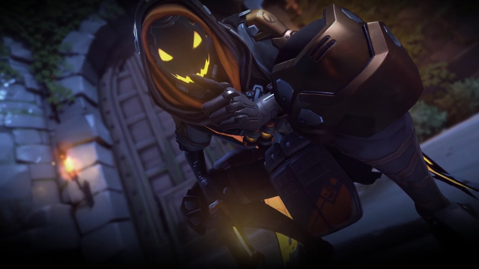 Free Download Ana Halloween Skin Wallpaper And Background