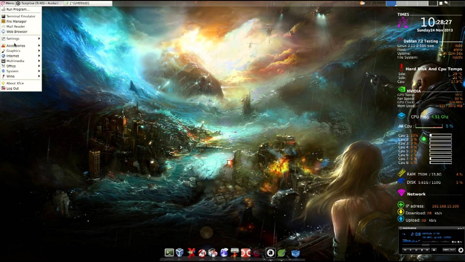 Free download Debian 8 Testing Jessie [1920x1080] for your Desktop