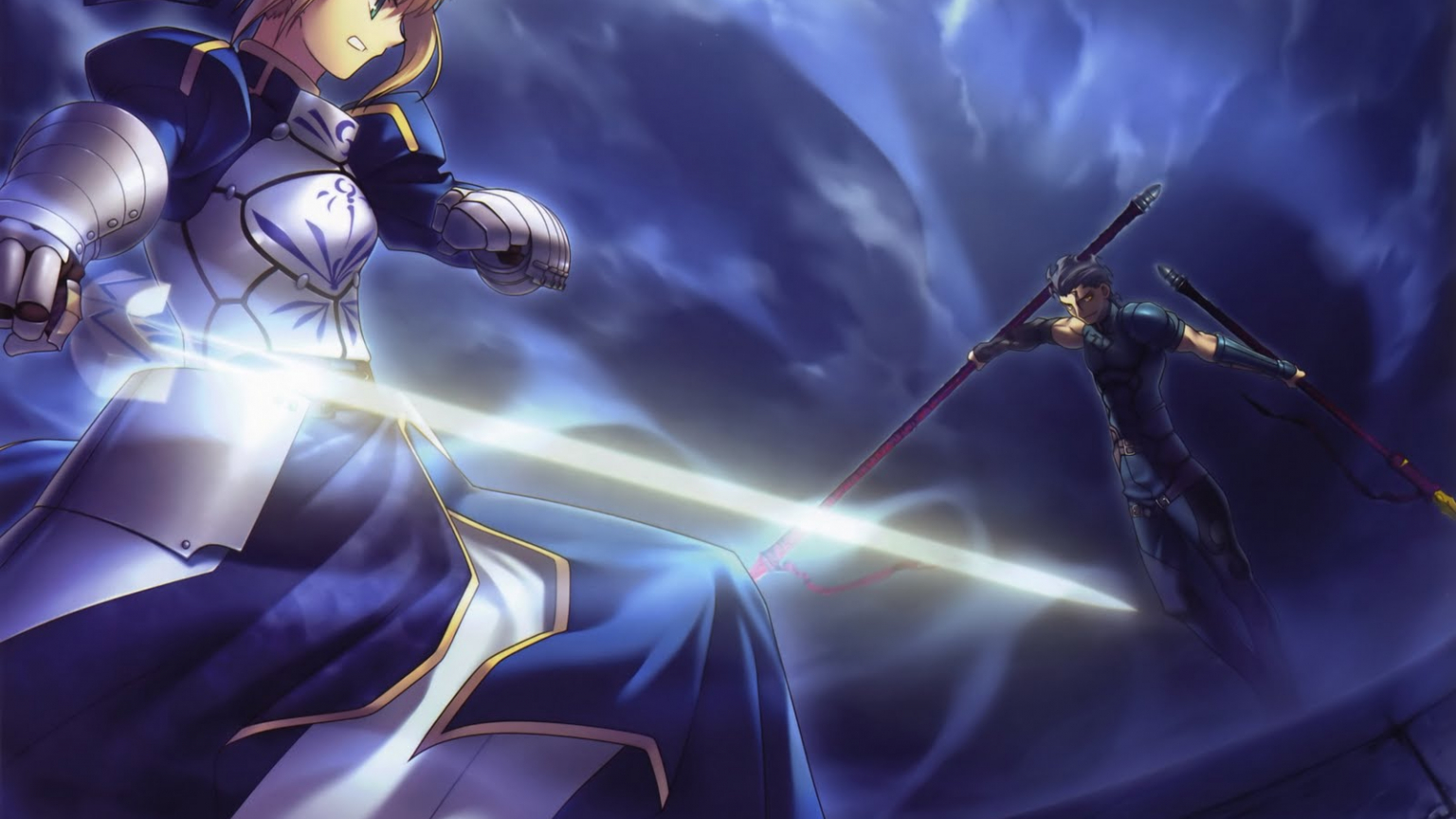 Free Download Saberlancer Fate Zeroanime Wallpaper 1600x1229 For