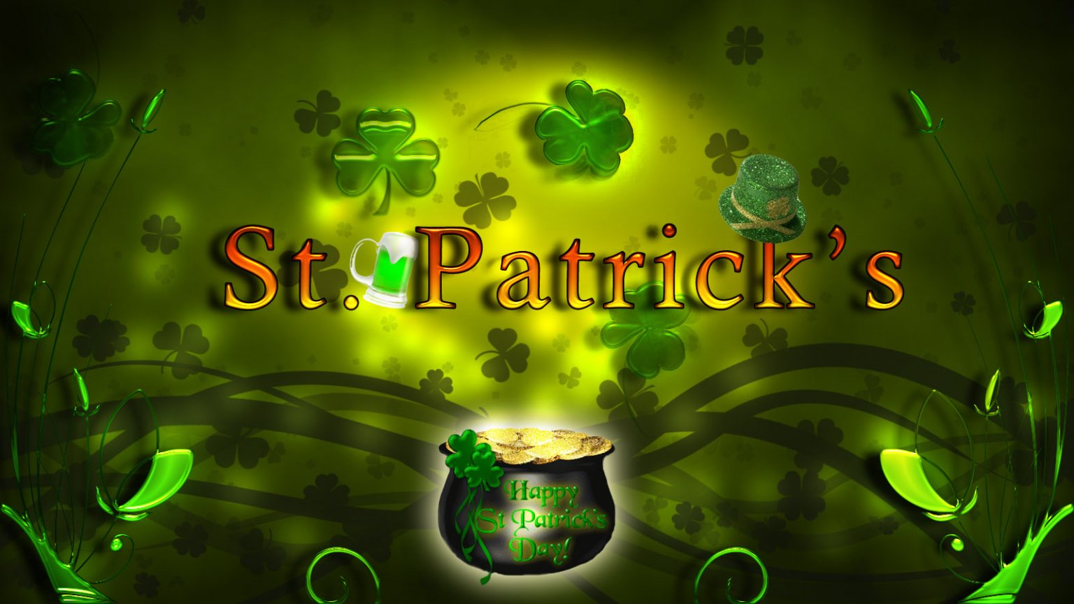 Free Download St Patricks Day Wallpaper Forwallpapercom 1600x900