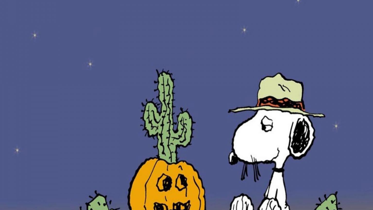 Charlie Brown great pumpkin wallpaper