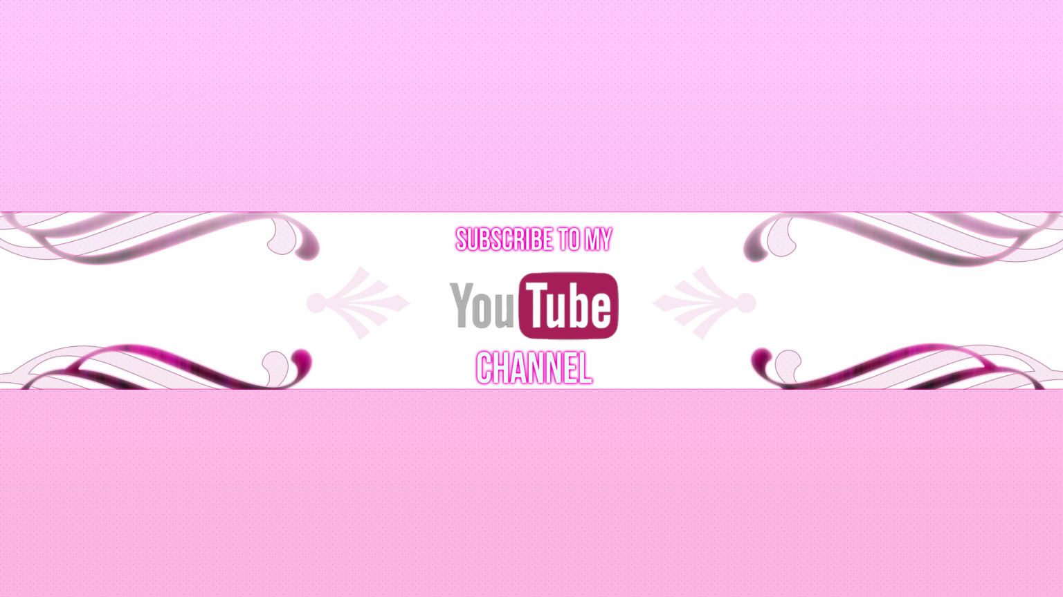 Free Download Girly Youtube Channel Art 2560x1440 For