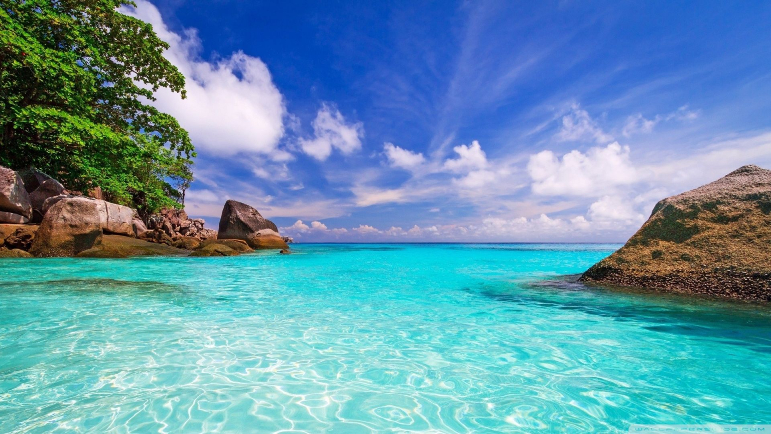 Download At Wallpaperbro: Free Download 45 1920X1080 HD Beach Wallpapers Download At