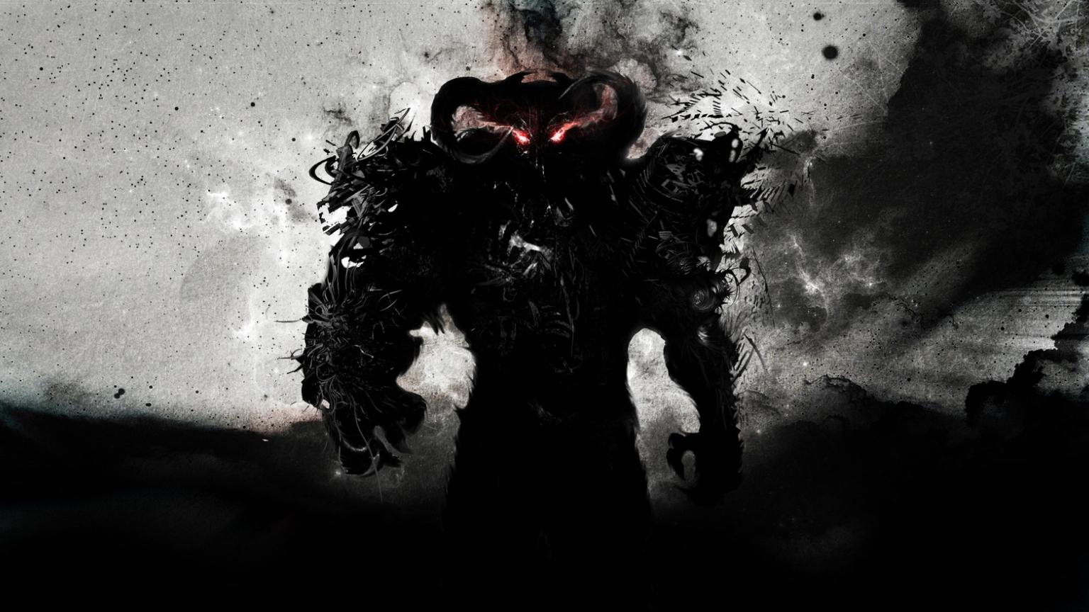Free download Black Demon HD Wallpaper Black Demon HD ...