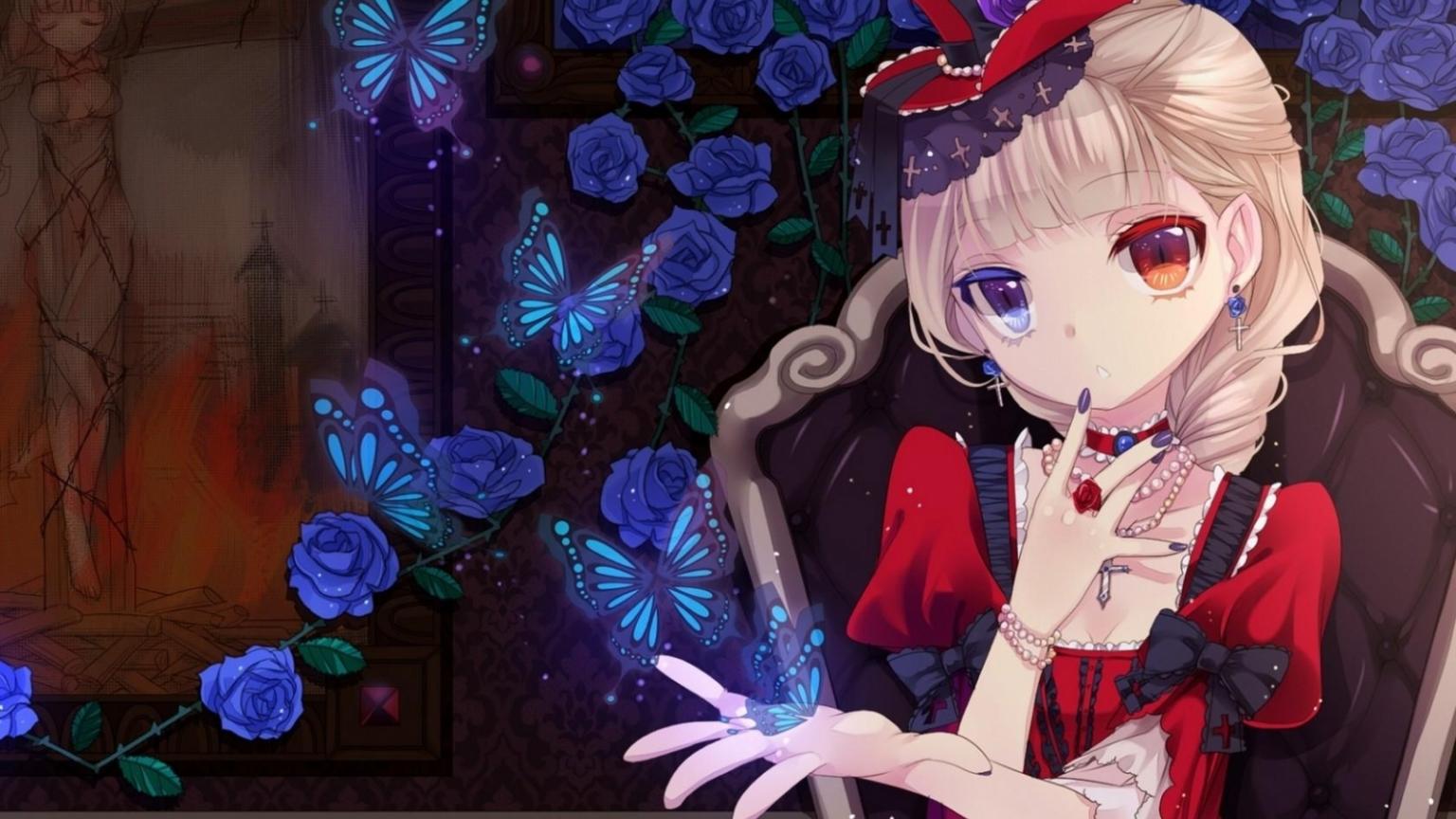 Free Download Alice In Wonderland Anime Wallpaper In Cartoon Anime