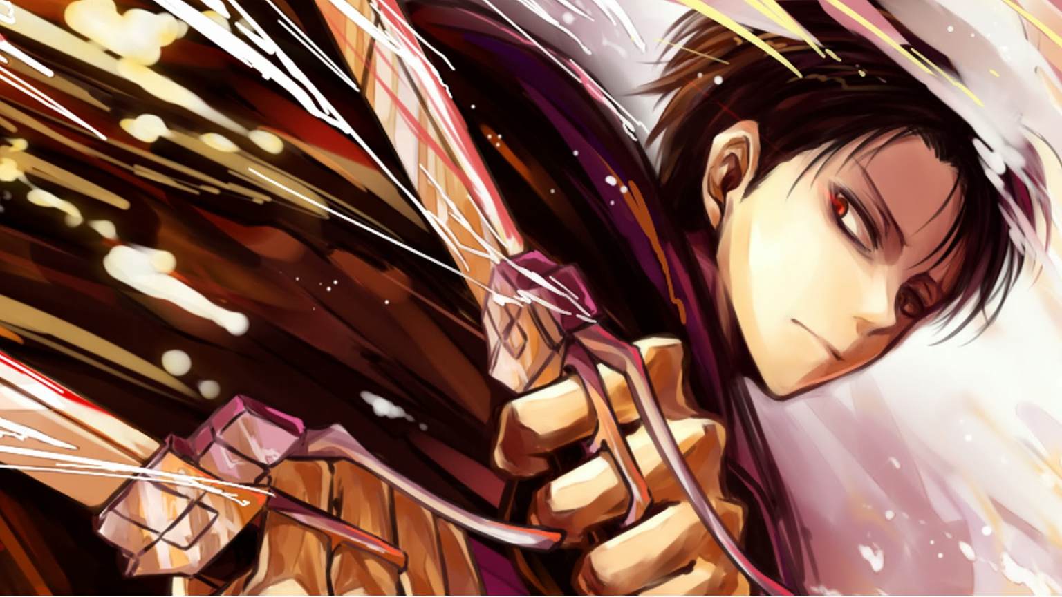 Free Download Attack On Titan Levi Anime Picture 92 Hd 1600x900