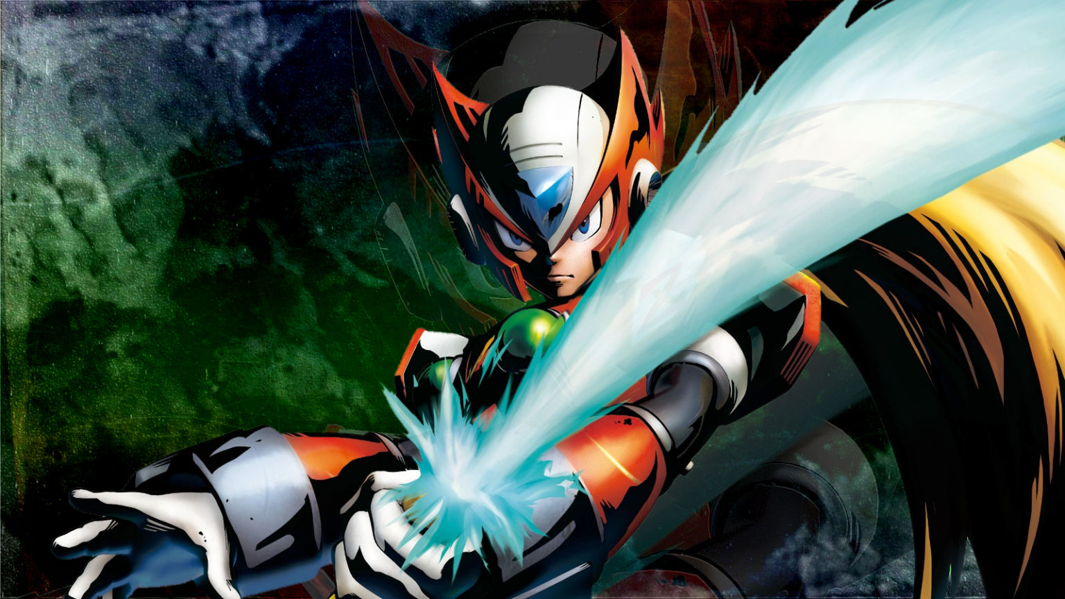Free Download Megaman X Zero 1 By Light Rock Fan Art Wallpaper