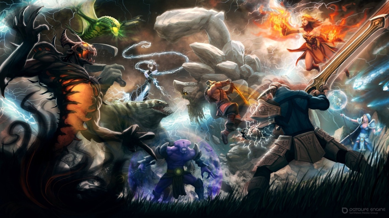 Free Download Defense Of The Ancients Games 1600x900 For Your