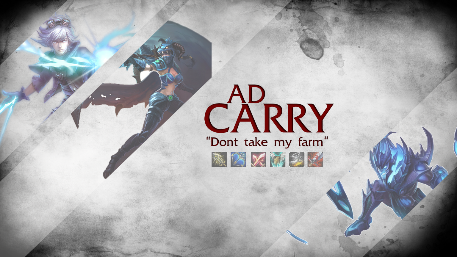 Free Download Adc Wallpaper League Of Legends 1920x1080 For Your