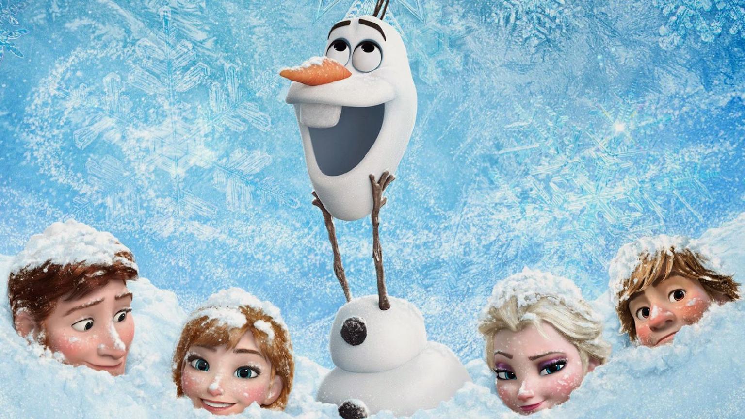 Free Frozen Fever Wallpaper HD Gambar Lucu Terbaru