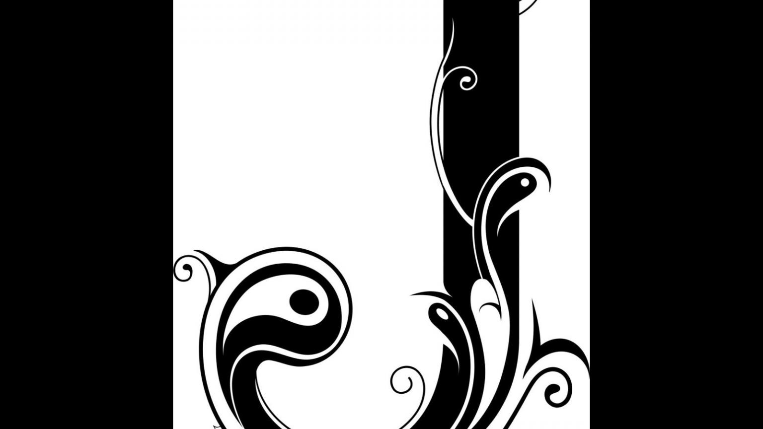 Free download Letter J Wallpaper Letter j design tattoo ...