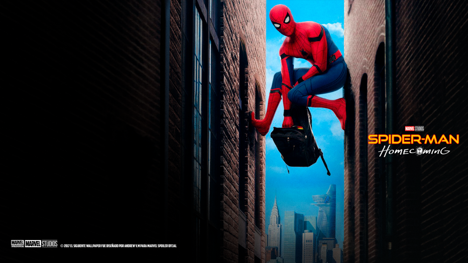 Spiderman Homecoming Wallpaper Marvel Spoiler Oficial Nuevos Wallpapers De Spider Man 1600x900