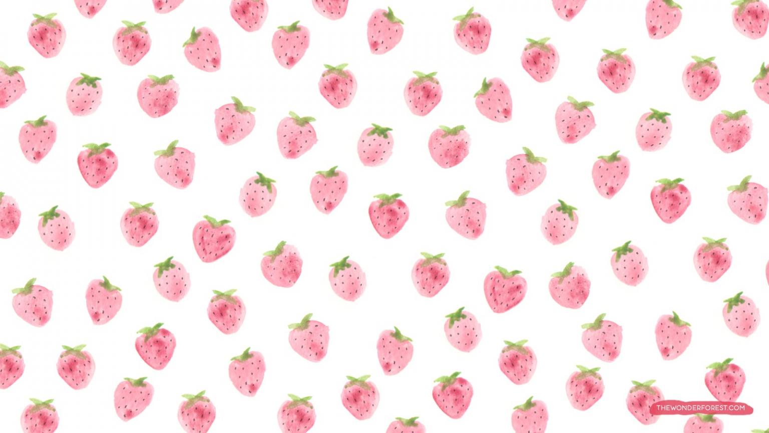 Free download Cute Strawberry Wallpaper ...