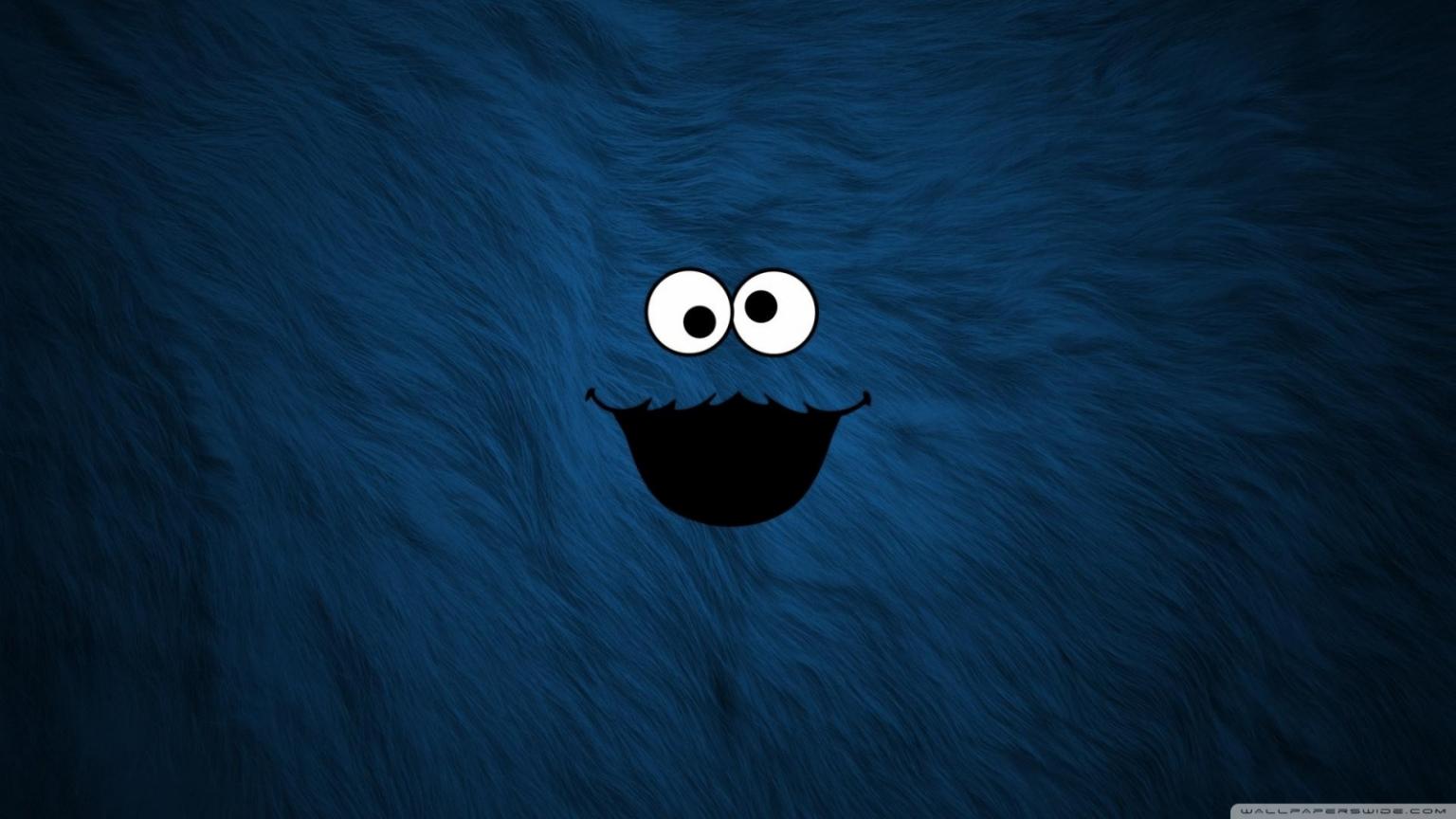 Free Download Cookie Monster Background 4k Hd Desktop Wallpaper