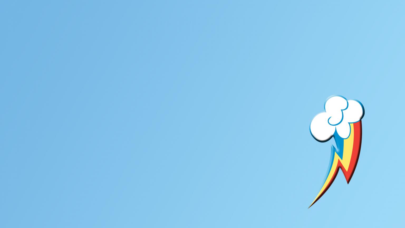 Free Download Rainbow Dash Cutie Mark Wallpaper By Freakin Ninja