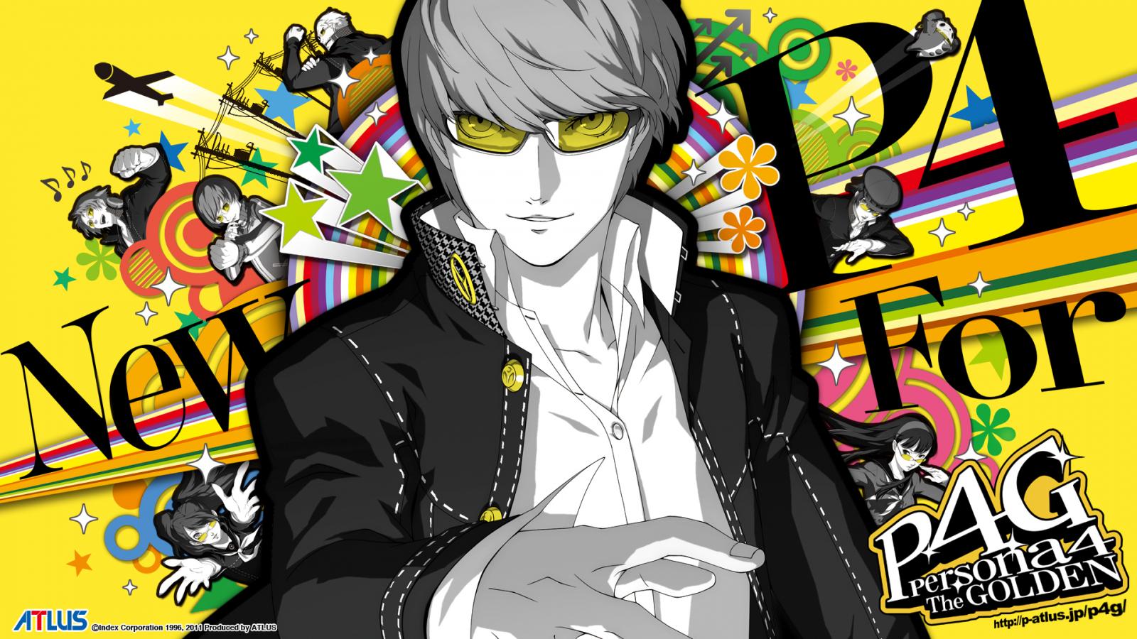 Free Download Persona 4 Golden Ps Vita Wallpapers Fonds Dcran