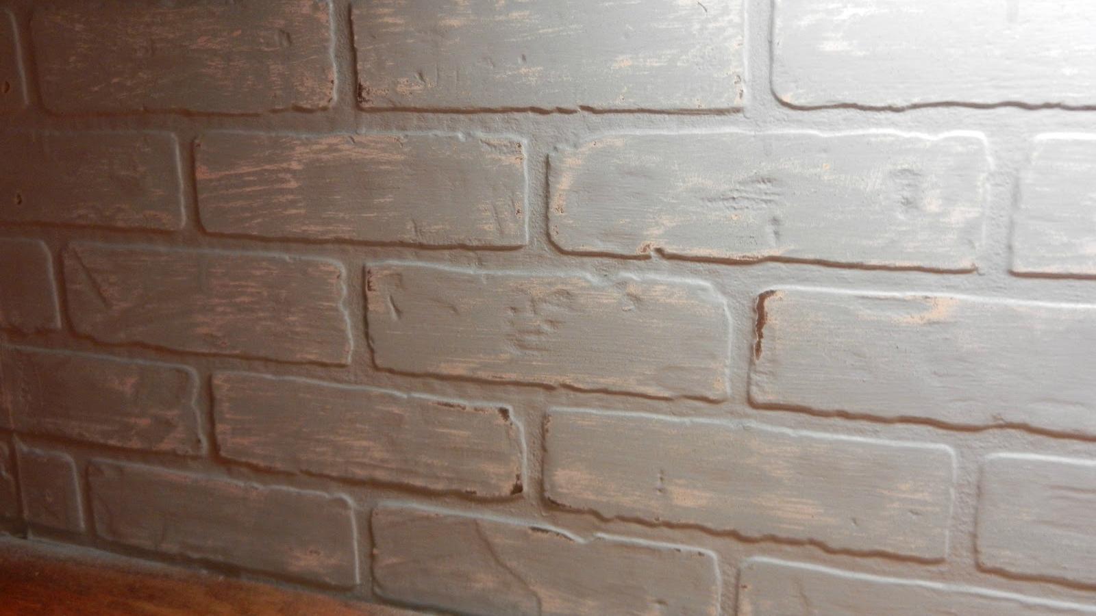 - Free Download Faux Brick Wallpaper Faux Backsplash Brick