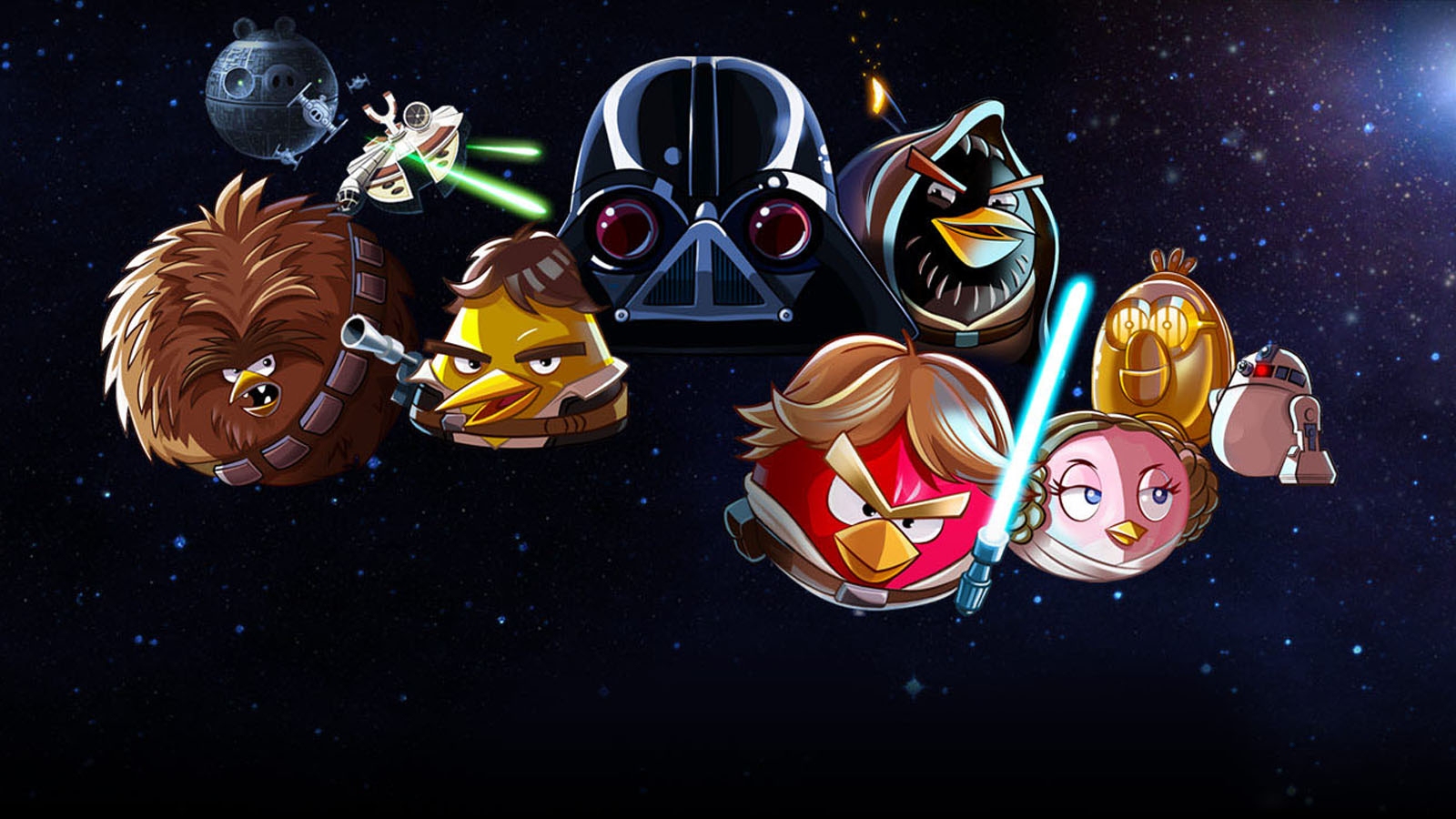 Free Download Angry Birds Star Wars Characters Wallpaper 2910jpg