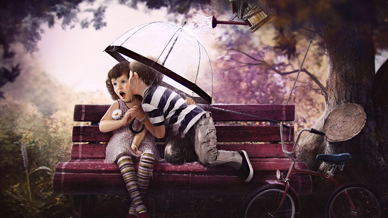 Free Download Cute Baby Girl And Boy Kissing On The Bench Hd Wallpaper Cute Little 1600x1000 For Your Desktop Mobile Tablet Explore 73 Cute Boy Pictures Wallpaper Hd Boys