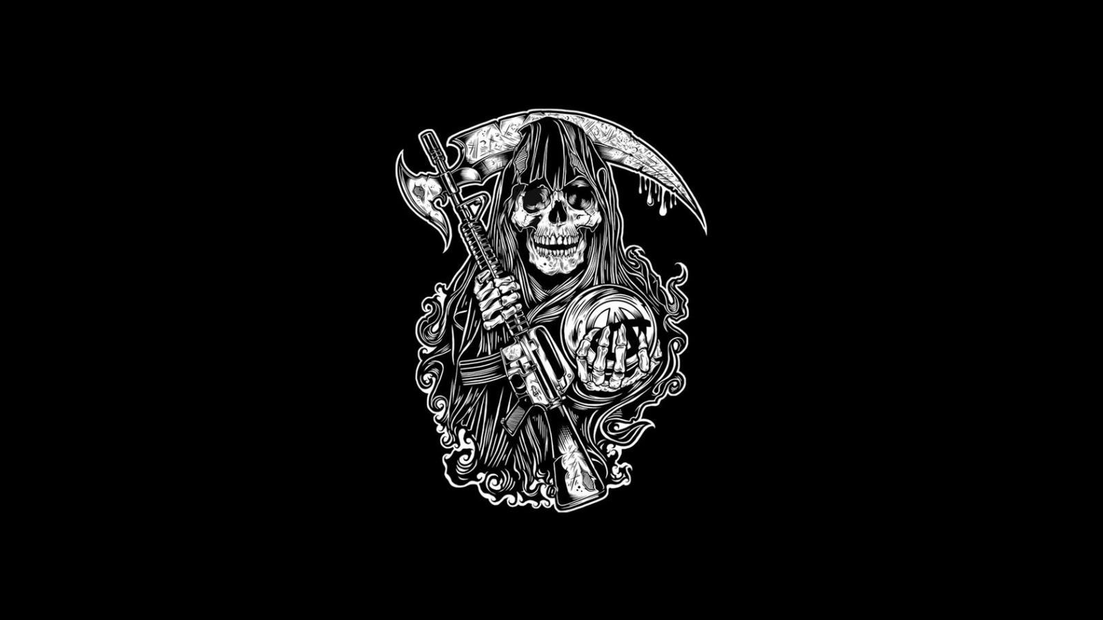 Free Download Samcro Sons Of Anarchy Logo Soa Logo Soa Insignia