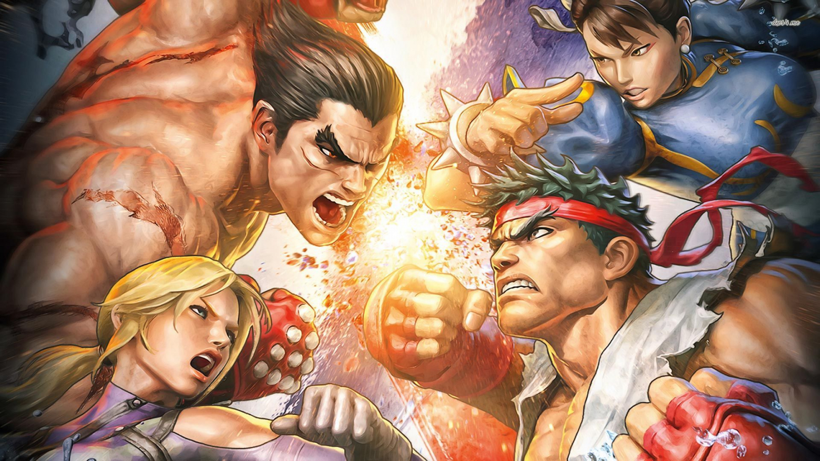 Free Download Street Fighter X Tekken Wallpaper 1280x800 Street