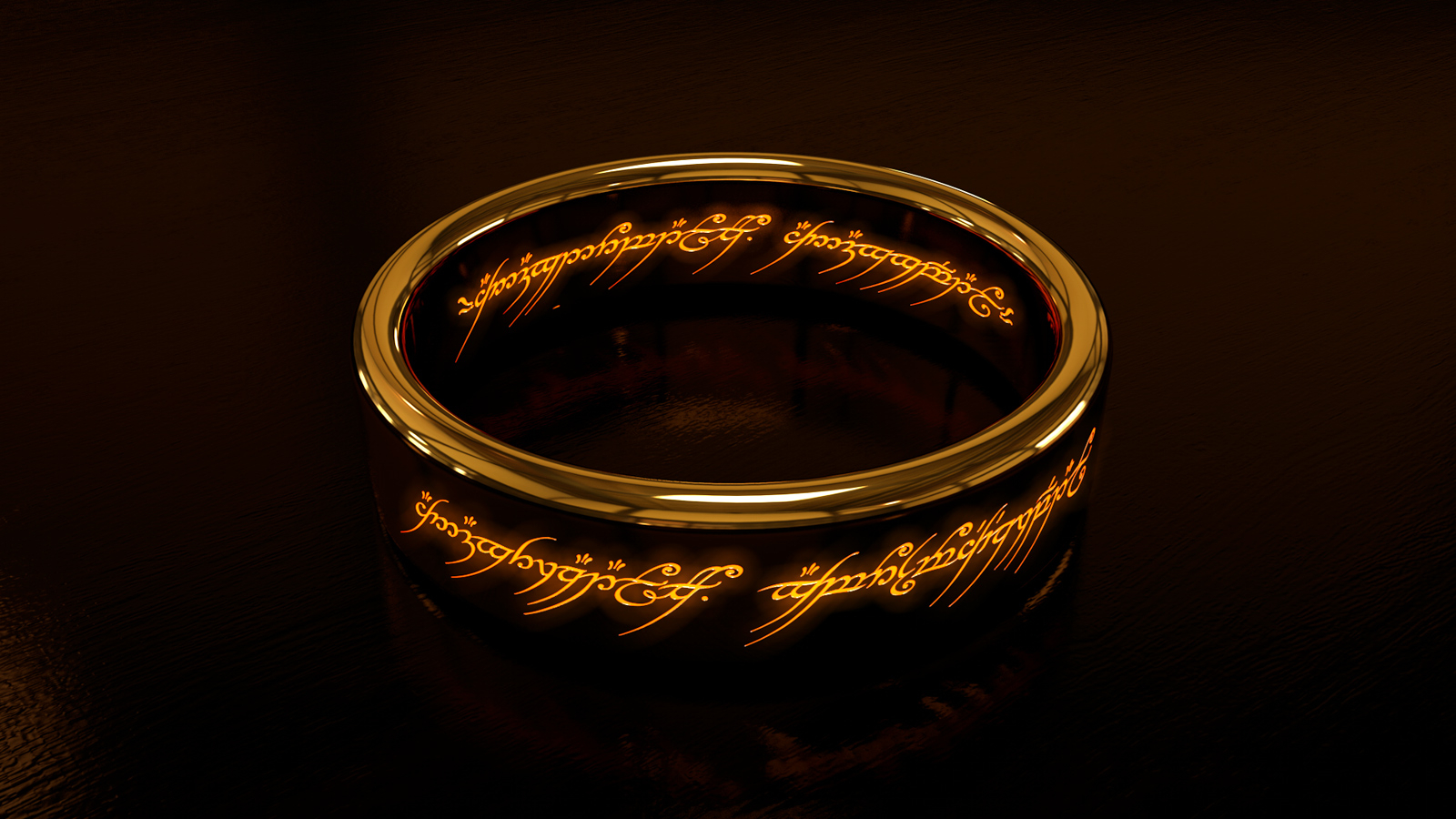 Free Download The One Ring Wallpaper Luminetrics 1600x1000