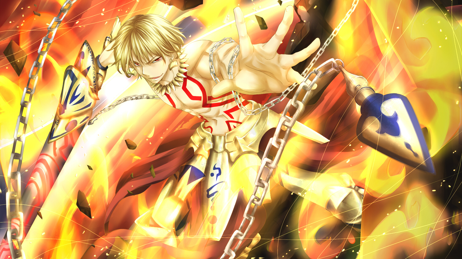 Free Download Gilgamesh Fate Stay Night Chain Weapon Anime Hd