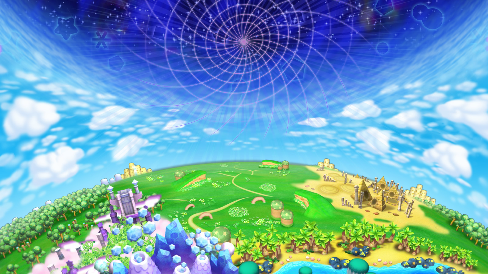 Free Download Kirby S Return To Dream Land Artwork Dream Land Name