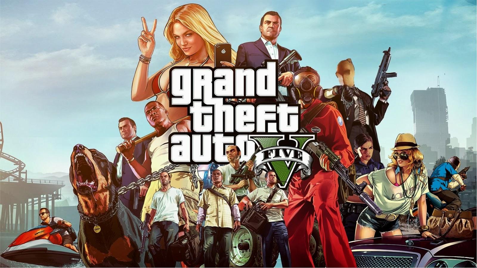 Free Download Wallpaper Gta Grand Theft Auto 5 Hd Gratis