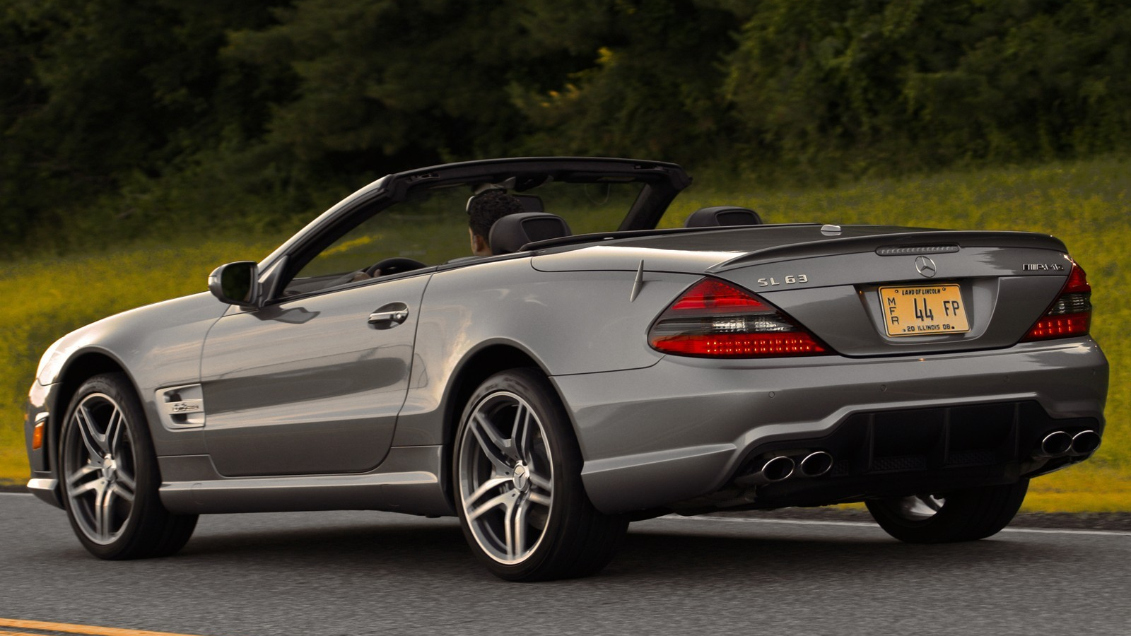 Free Download 2009 Mercedes Benz Sl63 Amg Exotic Car Wallpaper 21 Images, Photos, Reviews