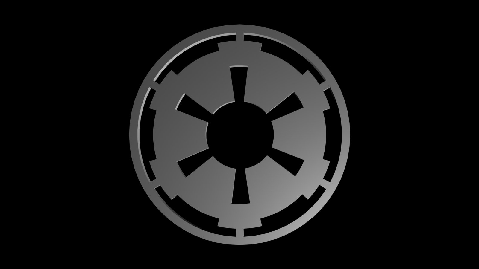 Free Download Star Wars Empire Logo Wallpaper 1600x905 For Your