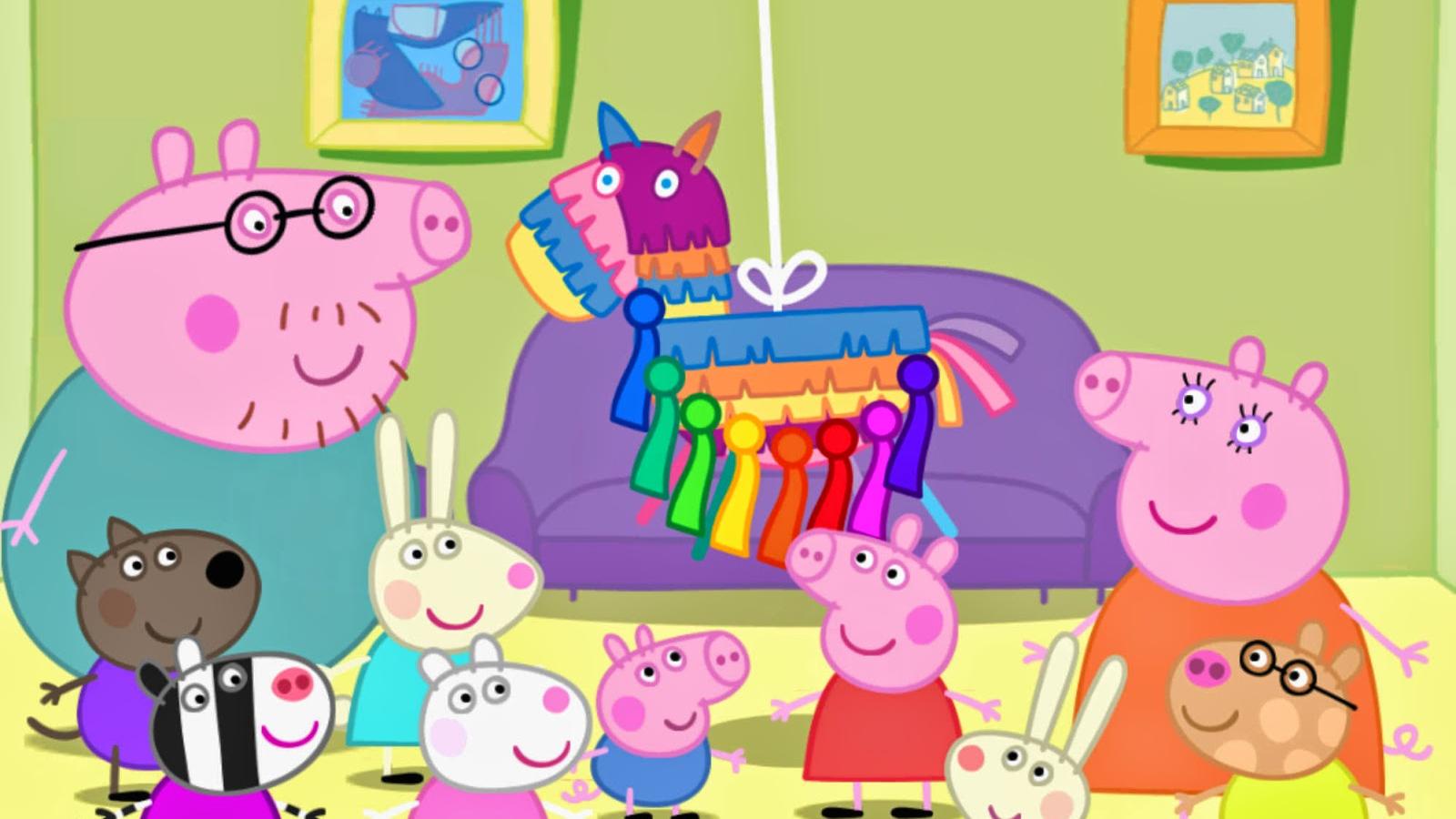 Free Download Pig Familia Peppa Pig Peppa Na Praia Peppa Pig
