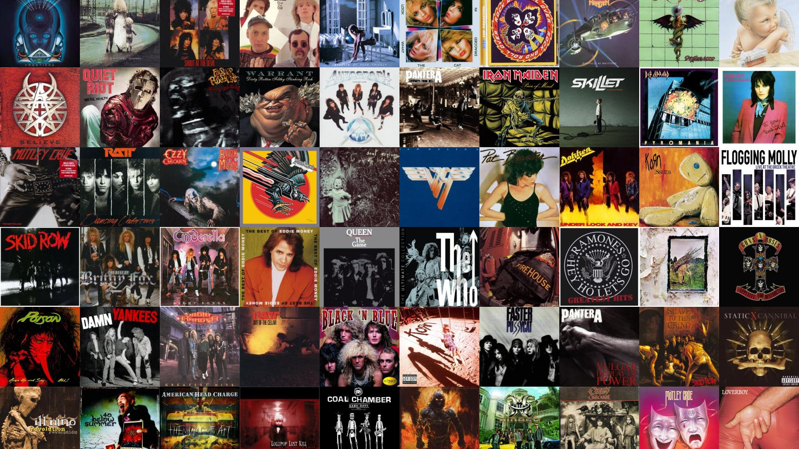 Free Download Classic Rock Album Covers Wallpaper 1600x950 For