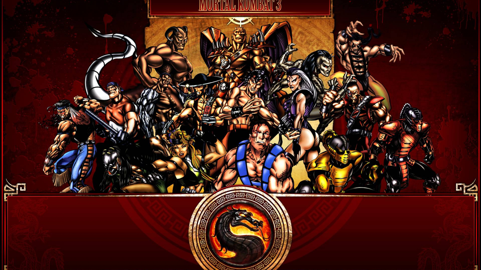Free Download Mortal Kombat Characters Wallpapers 1920x1200 For
