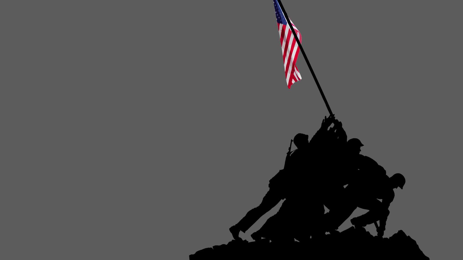 Wallpaper 1600x1200 Marine Flags USMC