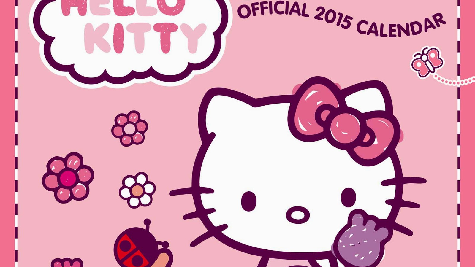 Free Gambar Hello Kitty Kalender Gambar Animasi