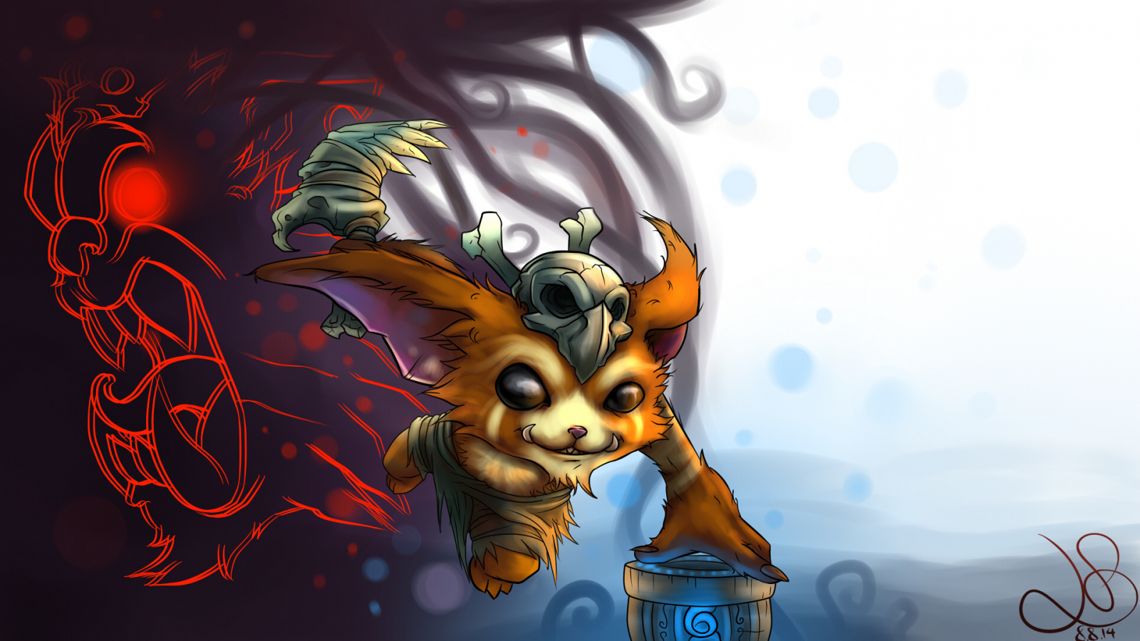 Free Download Gnar The Missing Linkvwallpaper1920x1080 By Colafied