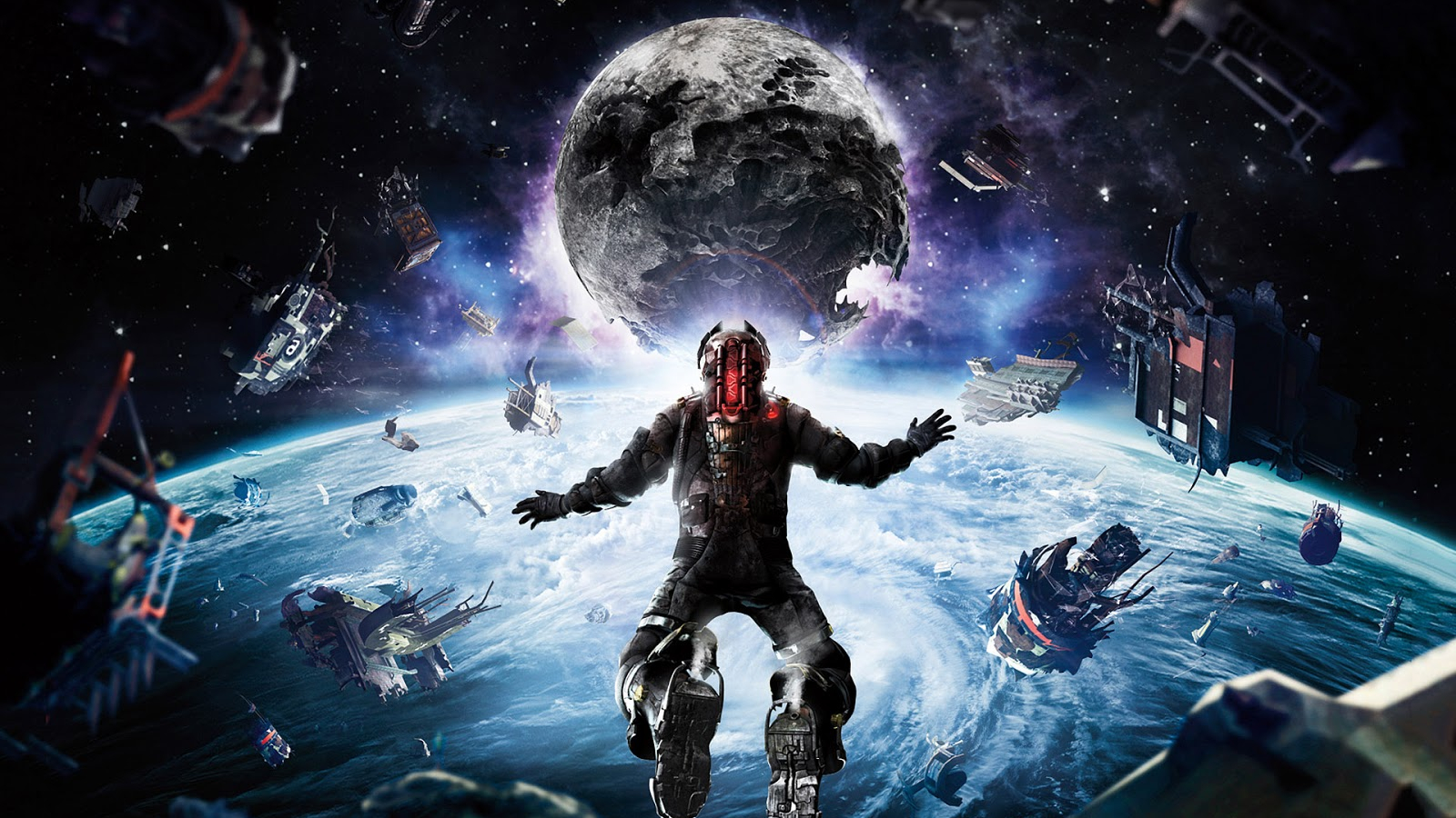 Free Download Dead Space 3 Wallpaper Blood Moon 1600x1000 For