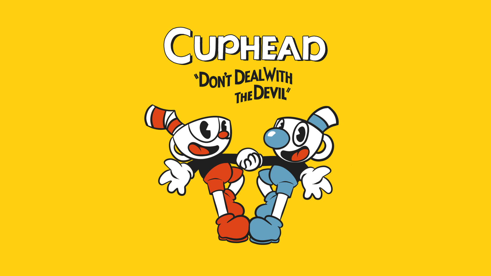 Cuphead and Mugman Wallpaper