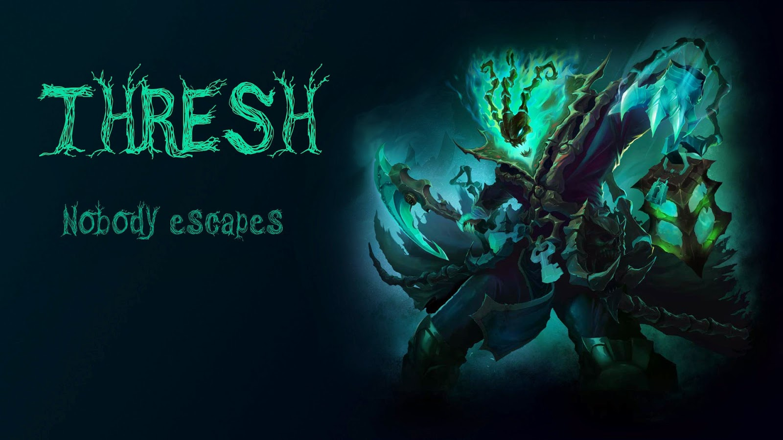 Free Download Thresh League Of Legends Champions Wallpaper Thresh