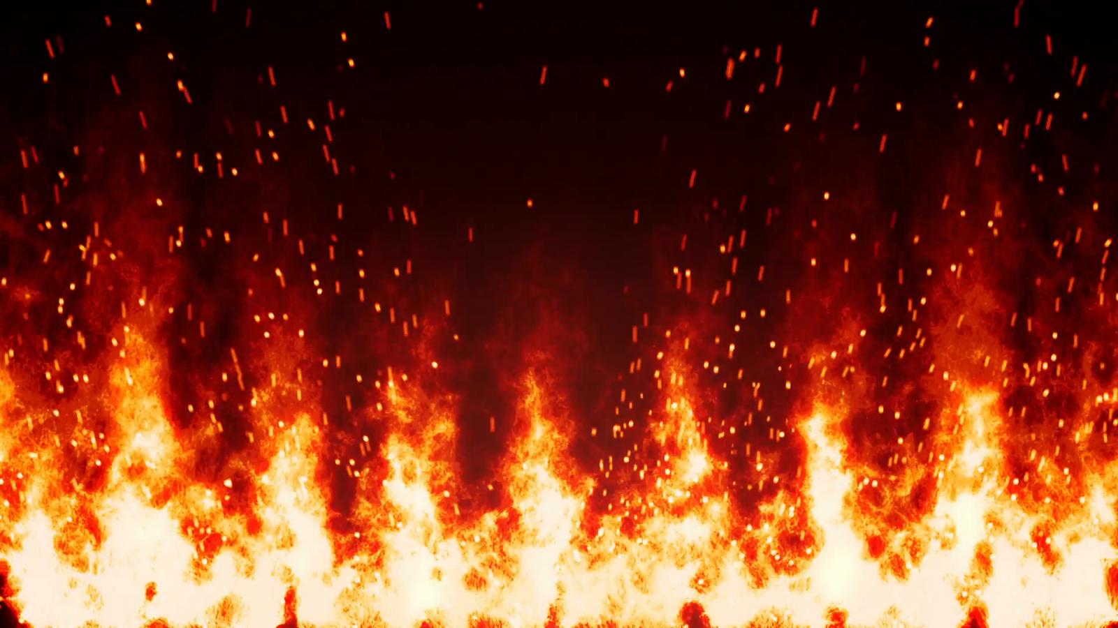 эффекты огня на фото однажды
